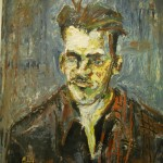 Random image: Untitled Self-Portrait: This painting was done by an anonymous patient at the Weyburn provincial mental hospital, c.1950s (Soo Line Museum, Weyburn)
