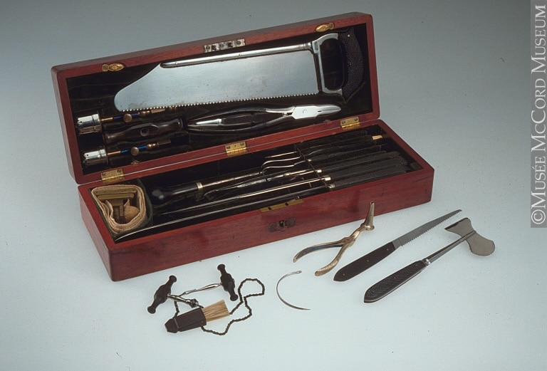 Surgical Set: (McCord Museum)