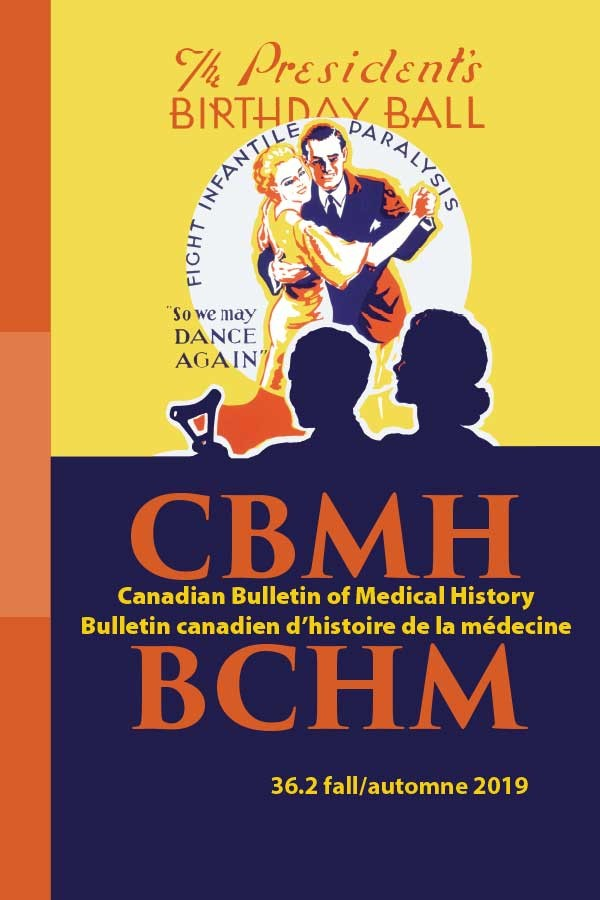 Canadian Society for the History of Medicine Journal